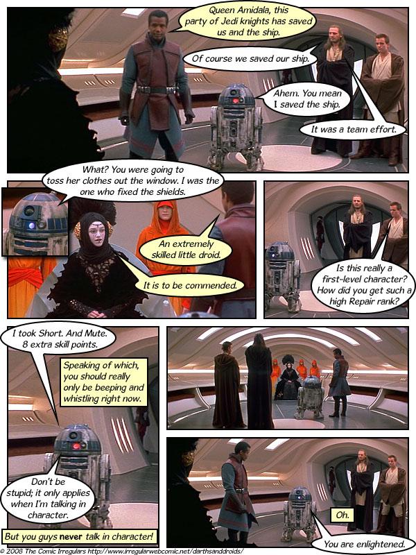 Darth And Droids Comic Darths Droids darths droids