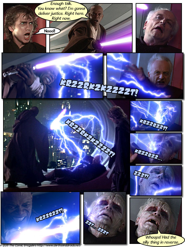 Episode 556: Palpatine Uses LIGHTNING! It's Not Very Effective...